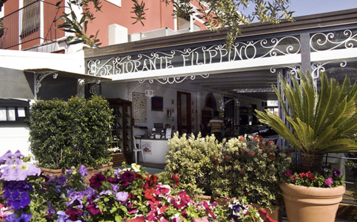 Ristorante Filippino Lipari, evento al Ristorante Filippino Lipari, Ristorante Filippino, cucina eoliana